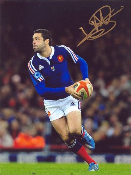 Remi Tales, France, Castres Olympique, signed 8x6 inch photo.